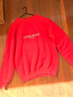 GUESS SWEATER VINTAGE