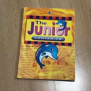 FOC English Grammar Vocab Sentence Construction Book Junior Companion Guidebook