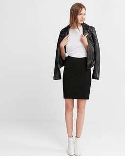 Express Black Bodycon Skirt 00