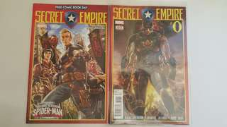 Marvel Comics: Secret Empire #0 - #10