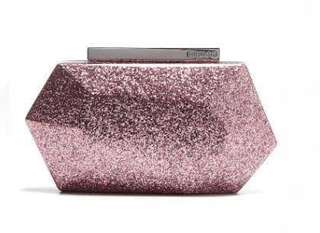Mimco - Flicker Hardcase Clutch - Rose