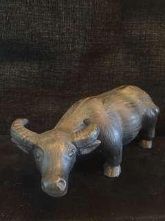 紫砂牛18cm