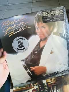 Micheal Jackson Thriller and various artist