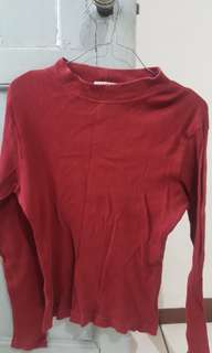 Preloved Maroon Sweater