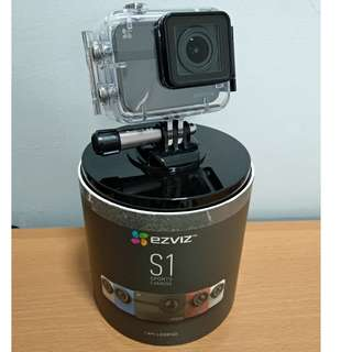 EZVIZ S1 Sports Action Camera + Remote
