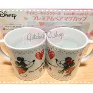 🇯🇵✨日本直送✨WinnieThePooh/Mickey&Minnie COUPLE 杯SET✨