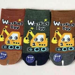 防滑小童襪·有趣小怪手