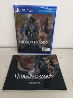 (Brand New) PS4 Hidden Dragon Legend with Bonus Artbook / R3