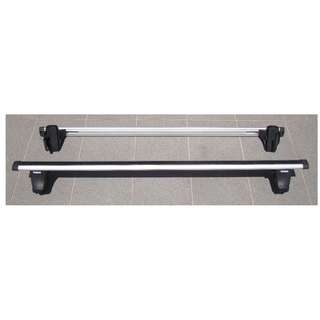 Original Thule 750/862 Roof Rack Assembly (fixed with 1333-type Custom Adapter Mounting Kit for 2010 Mitsubishi Grandis)