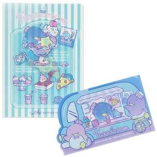 Japan Sanrio Tuxedo Sam Clear File Set (Cafe Wagon)