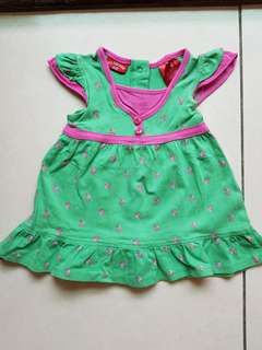 🚚 U.S. POLO ASSN 二手女嬰洋裝