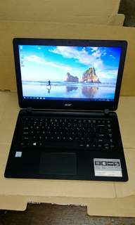 Acer Aspire ES 14 (i3 7th Gen CPU)notebook