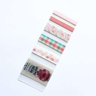 Floral Washi Tape Sample