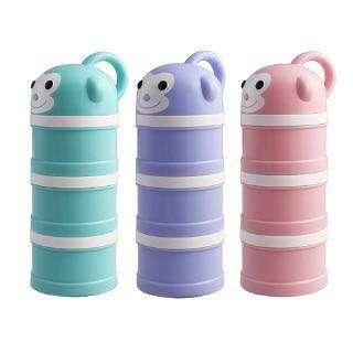 BabyTalk可愛動物奶粉分裝盒-小猴子(三色)