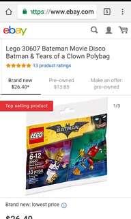 Lego Disco and Tears of Batman