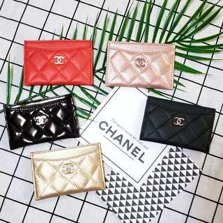 限時優惠 Chanel card holder 卡套 卡片套 卡包 咭套 咭片套