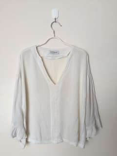 Blouse COTTONINK Broken White M