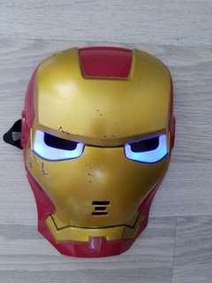 Iron Man 面具~ 有燈的