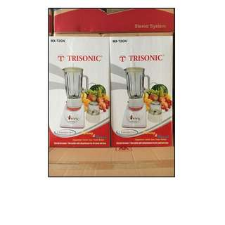 Blender Trisonic kaca Bagus Like Philip Panasonic Harga Murah
