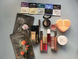 Complete Makeup Bundle!!! (Maybelline, L'Oreal, Stila, Colourpop, etc.)