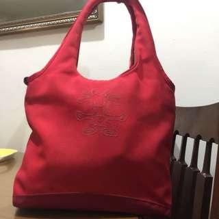 Crumpler red bag