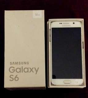 32GB Samsung Galaxy S6 - White Pearl