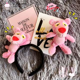 New Insg Super Hot Naughty Pink Panther Doll Hair Ring