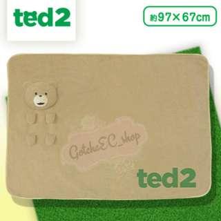 🇯🇵✨日本直送✨賤熊Ted Die-Cut Icon Blanket毛毯✨