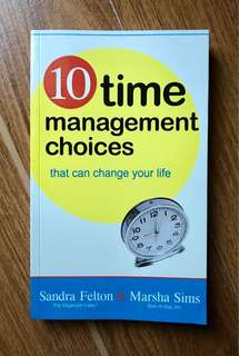 10 Time Management Choices