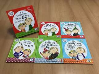 NEW Charlie and Lola Children's Storybooks & Audio CD Collector's Set