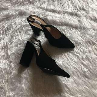 Qupid Black heels