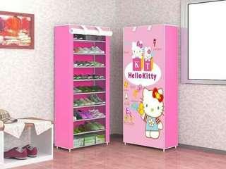 Hello Kitty 9 Layer Shoerack