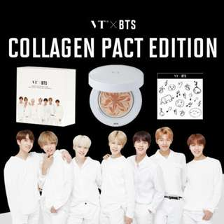 VT X BTS Collagen Pact