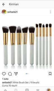 White Brush set