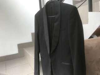 Jas Tuxedo H&M atas bawah