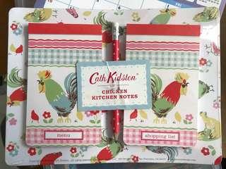 全新真品 Cath Kidston 🐥 Chicken Kitchen Notes