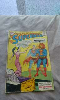 Early Silver Age DC Comics Superman # 165