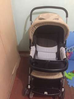 stroller with free Beco carrier