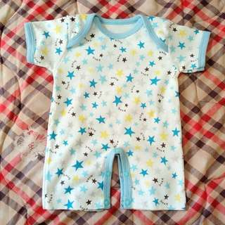 Baby Blue Star Bodysuits