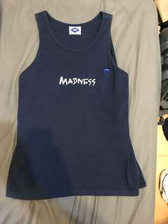 Madness 深藍口袋背心