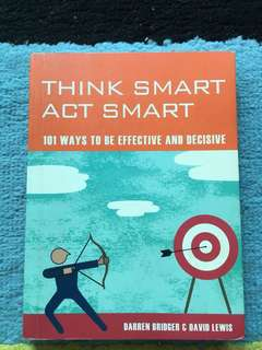 Think smart act smart, book for improved thinking skills