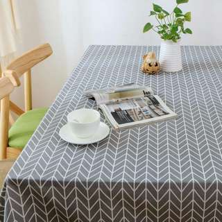 [Home & Interior] Geometric Table Cloth/ Nordic/Scandinavian
