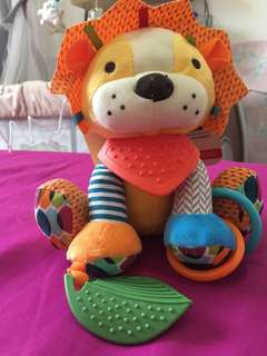 Rattle baby animal toy / gantungan stroller bayi
