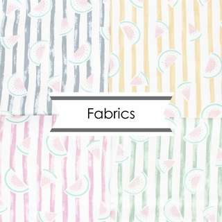 Fabrics for Customisation