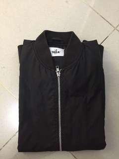 bomber jacket TAKA black sz m