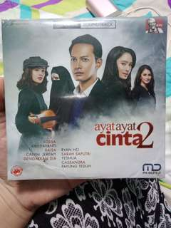 DVD Original Soundtrack Ayat-Ayat Cinta 2 #blessing
