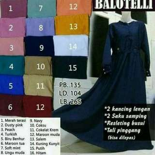 Gamis Payung Polos