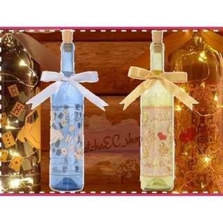🇯🇵✨日本直送✨LED Premiunm Illumination Bottle (Alice / Blue)✨