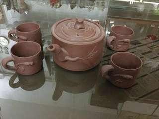 紫砂茶具一套