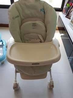 Combi 3 in 1 rocker and feeding chair